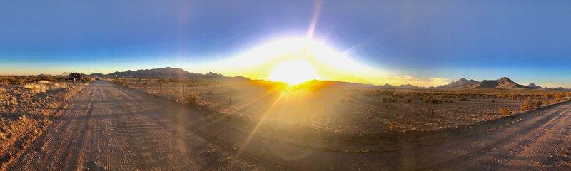Animas at sunset